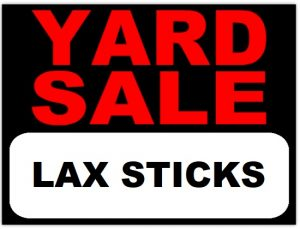 Yard Sale LAX Sticks